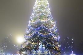 Туман в Новогоднем Владимире