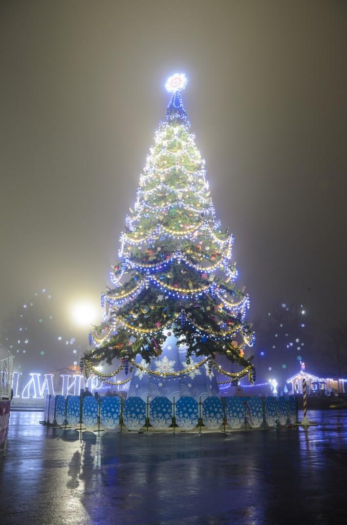Туман в Новогоднем Владимире 01