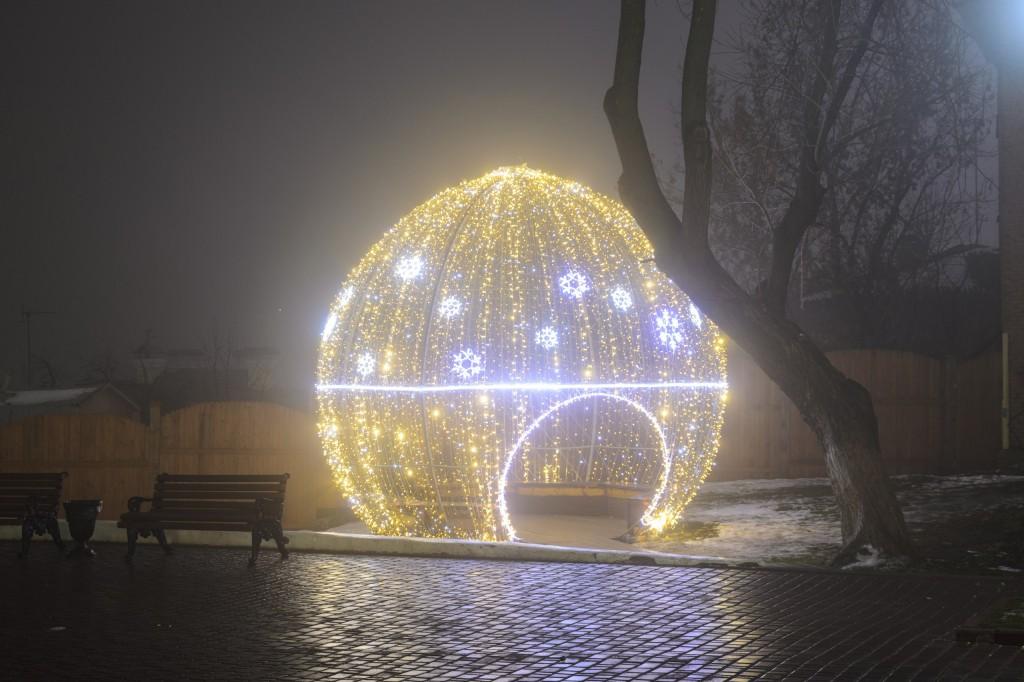 Туман в Новогоднем Владимире 02