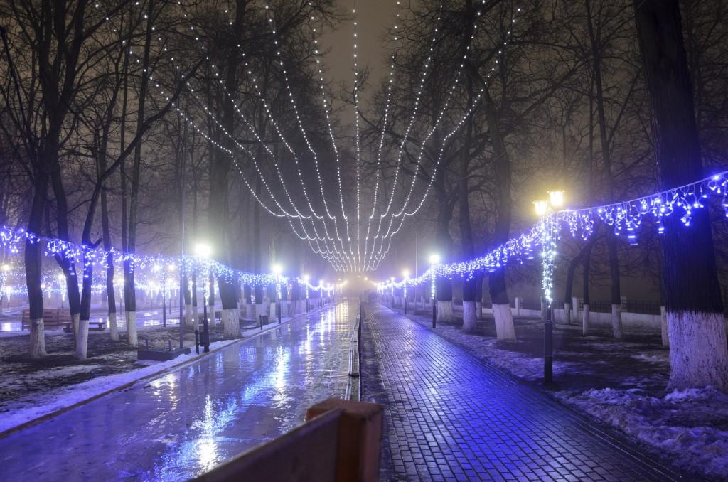 Туман в Новогоднем Владимире 03