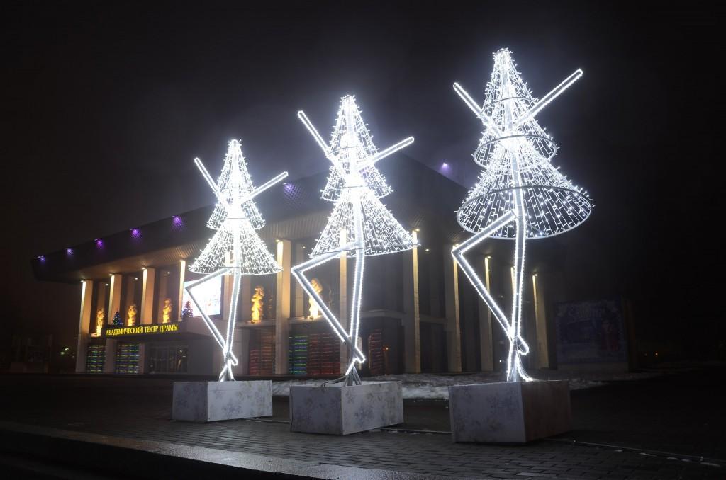 Туман в Новогоднем Владимире 04