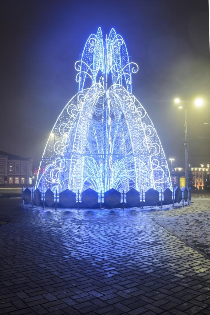 Туман в Новогоднем Владимире 05