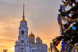 Зимняя краса: Успенский собор