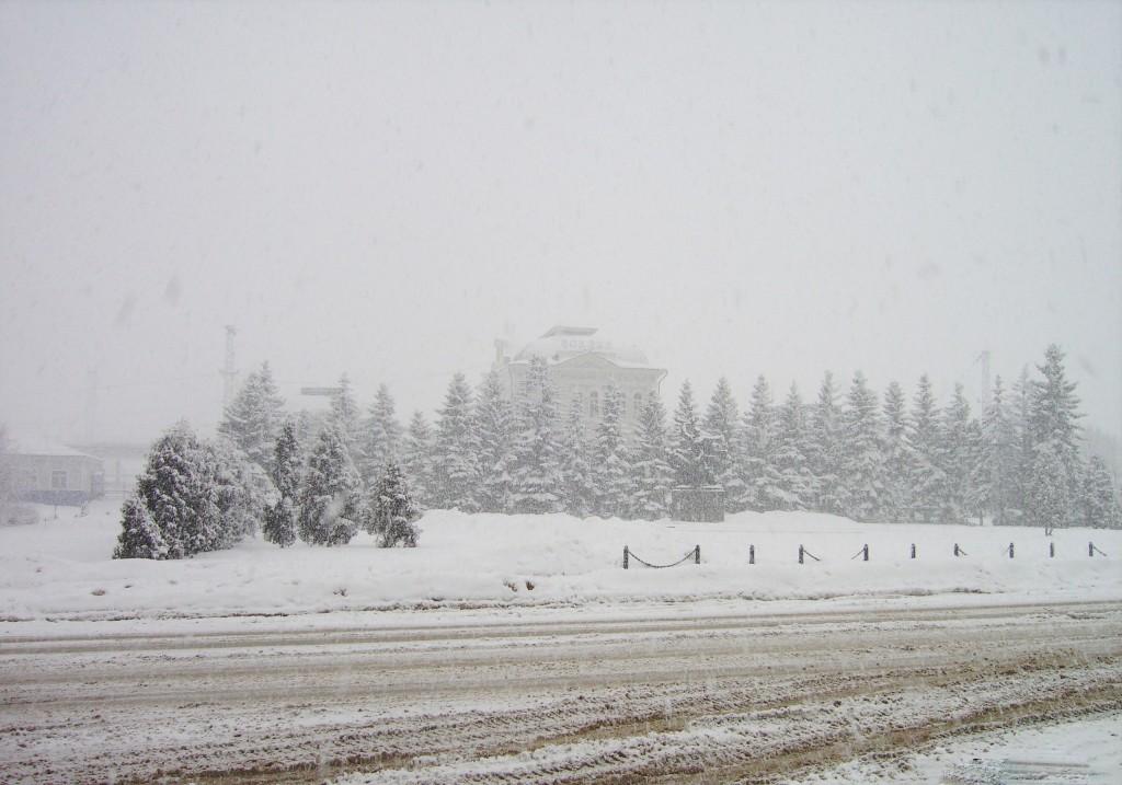 Александров в зимней хмари. 2009 год. 01