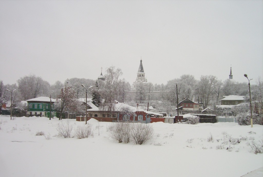 Александров в зимней хмари. 2009 год. 02