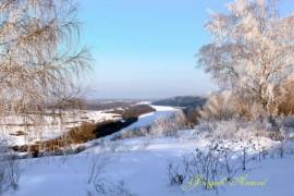 Вид с «Венца», г. Вязники