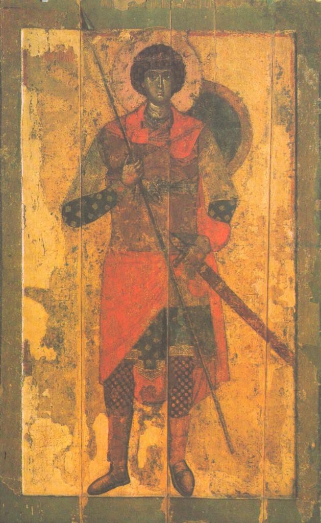 Владимирский мастер. Святой Георгий. 1220-е гг.