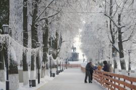 #Владимир #Зима #Парк (Январь 2018)