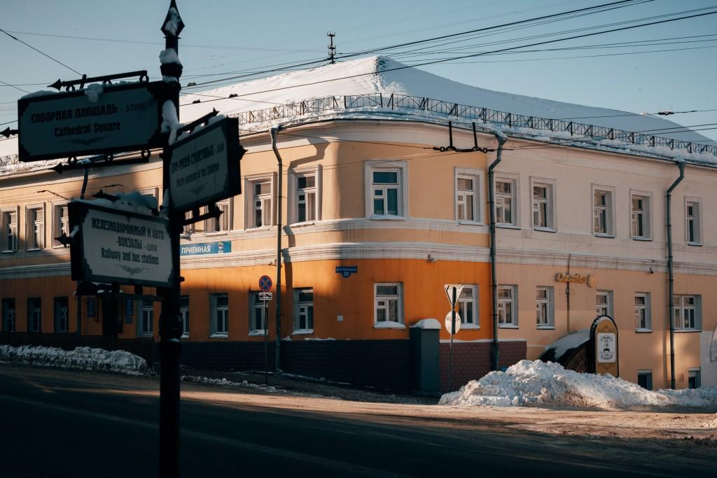 Владимир в феврале 18