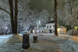 Ковров. Зима. Парк Пушкина.