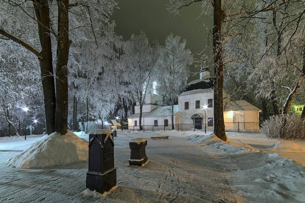 Ковров. Зима. Парк Пушкина. 01