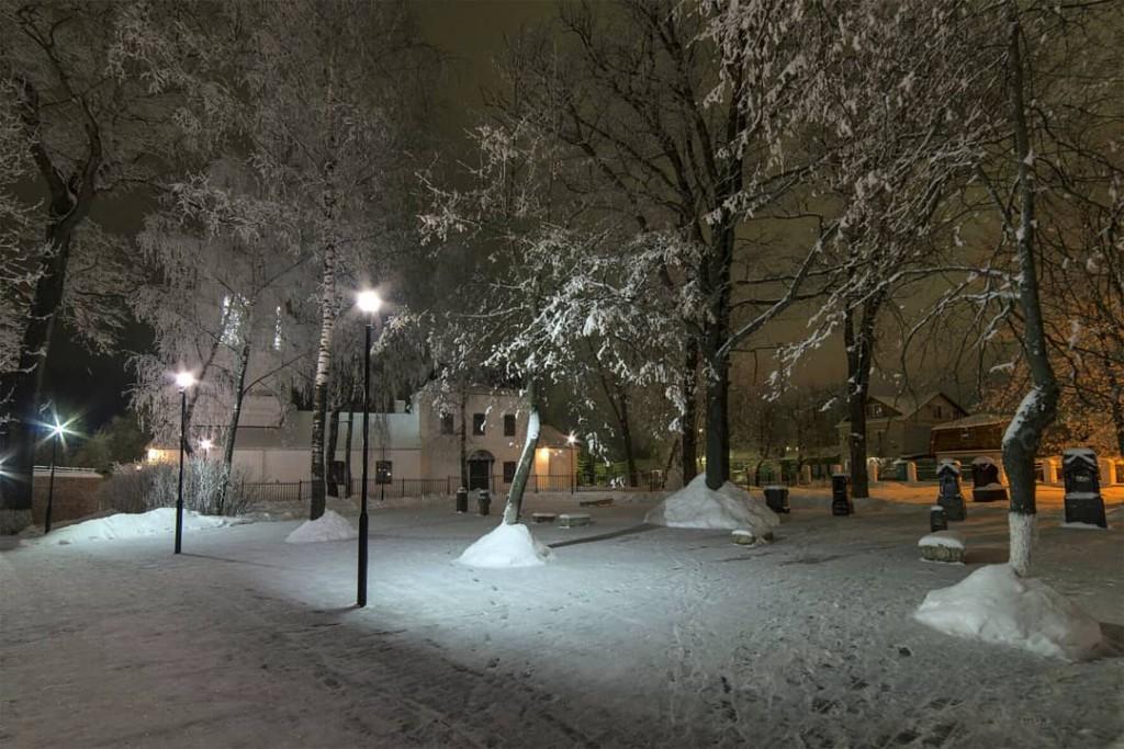Ковров. Зима. Парк Пушкина. 02