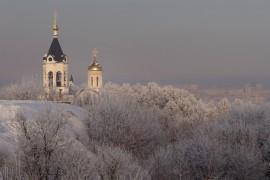 Красивая зима во Владимире 2018