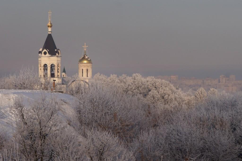 Красивая зима во Владимире 2018 01