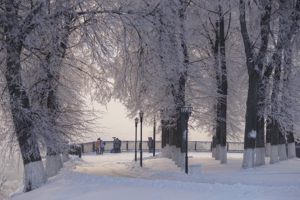 Красивая зима во Владимире 2018 02