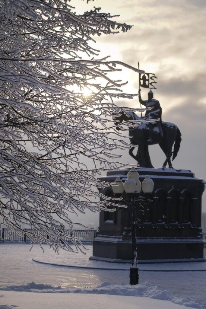 Красивая зима во Владимире 2018 03