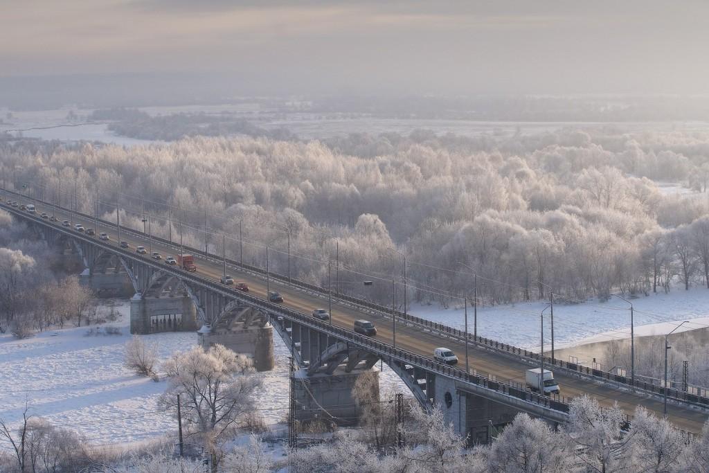 Красивая зима во Владимире 2018 05