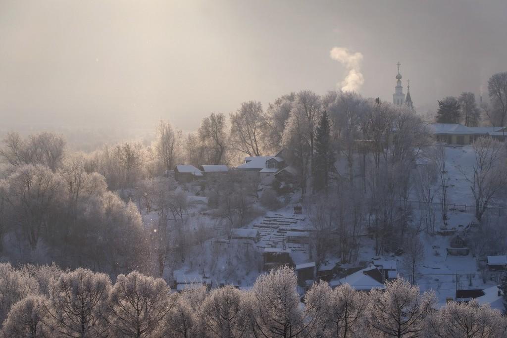 Красивая зима во Владимире 2018 06