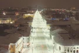 Лунная дорожка во Владимире