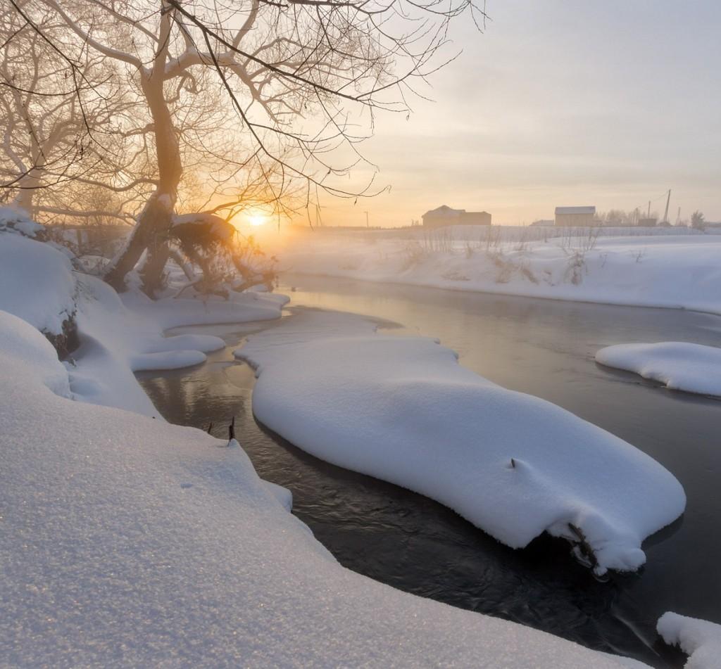 Мгновенья одного заката. Река Серая. Александров 01