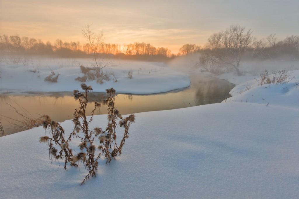 Мгновенья одного заката. Река Серая. Александров 02