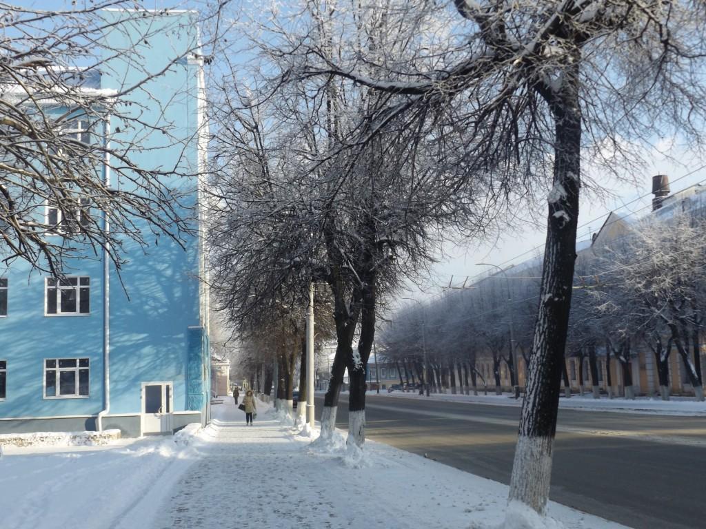 Морозная синь во Владимире 06