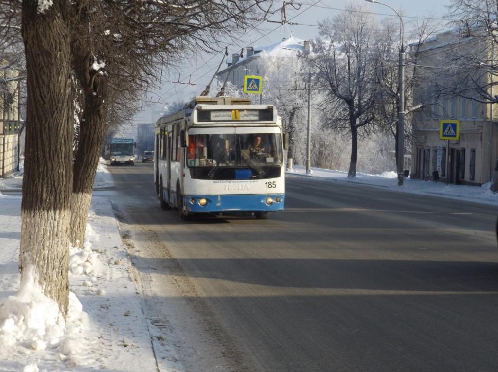 Морозная синь во Владимире 08