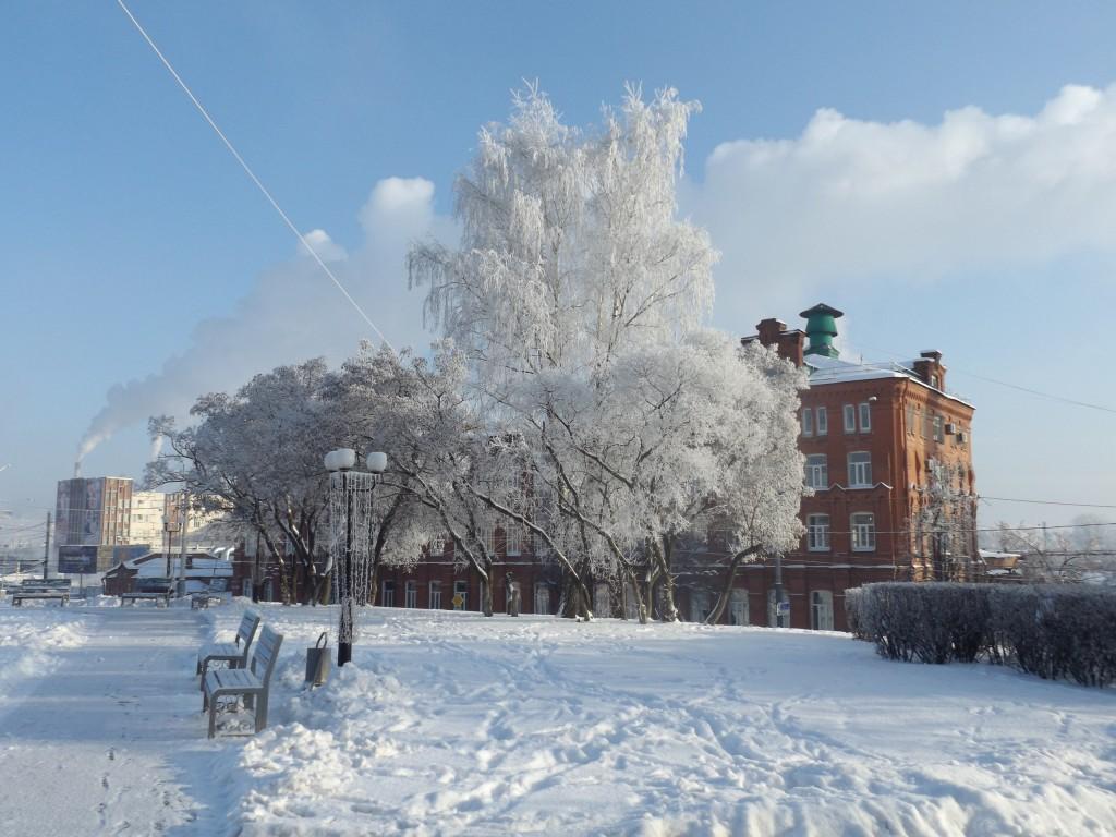 Морозная синь во Владимире 09