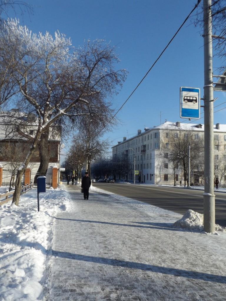 Морозная синь во Владимире 10