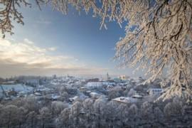 Морозный Владимир с высоты