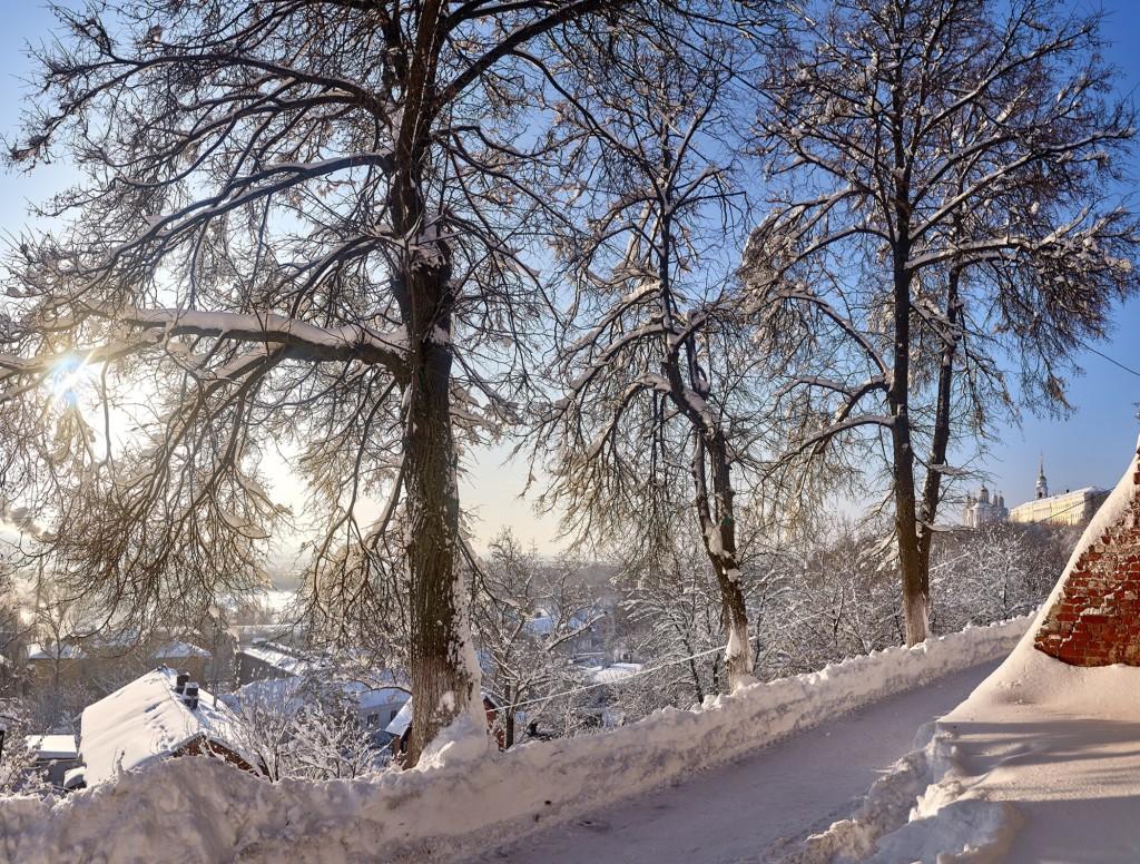 Морозный денек во Владимире - продолжение ( февраль 2018 ) 01