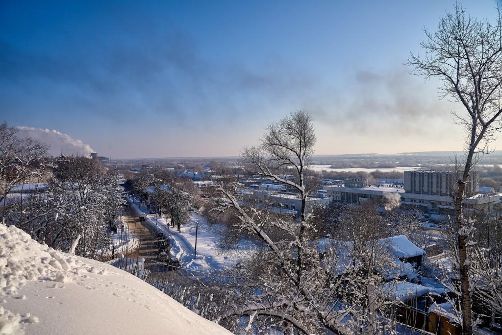 Морозный денек во Владимире - продолжение ( февраль 2018 ) 02