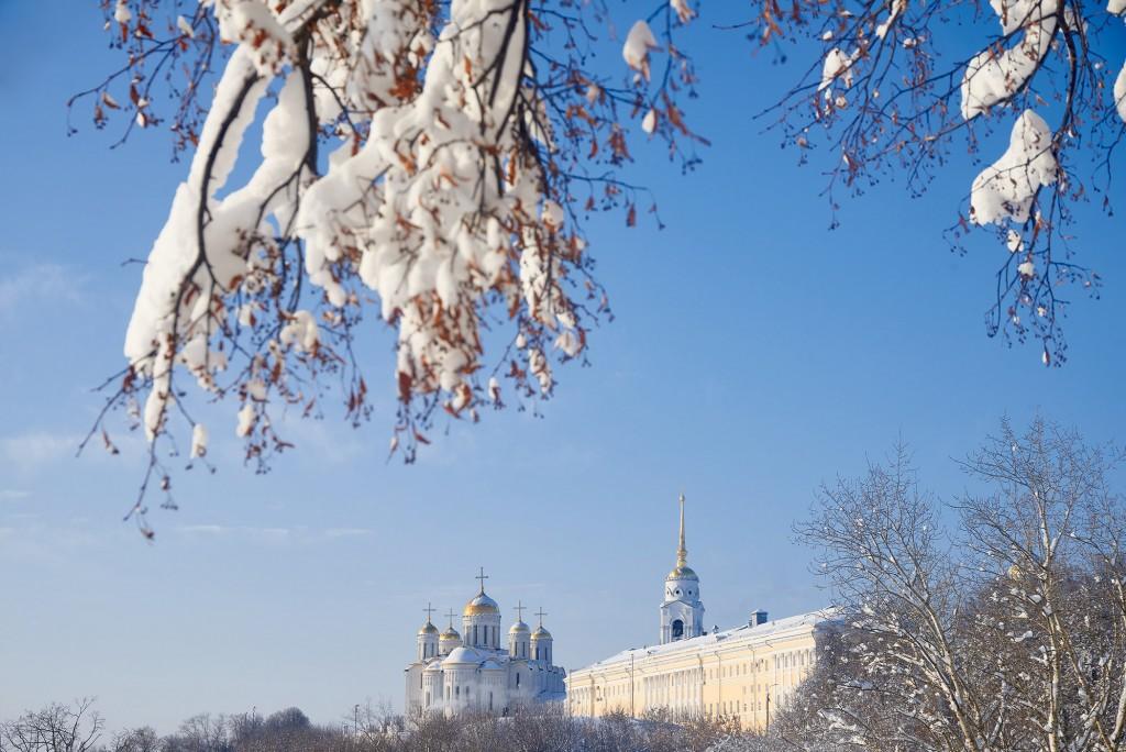 Морозный денек во Владимире - продолжение ( февраль 2018 ) 03
