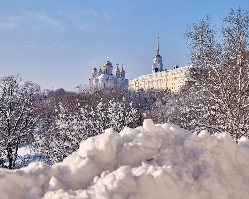 Морозный денек во Владимире - продолжение ( февраль 2018 ) 04
