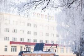 Морозный день в Вязниках