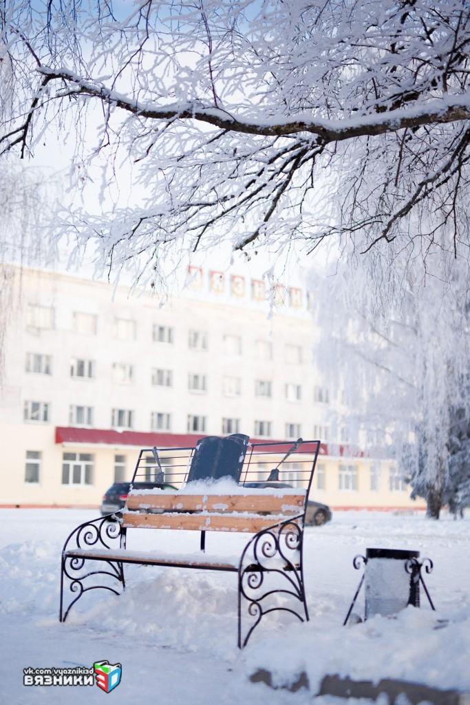 Морозный день в Вязниках 01