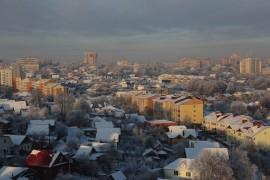 Не в центре Владимира зимой