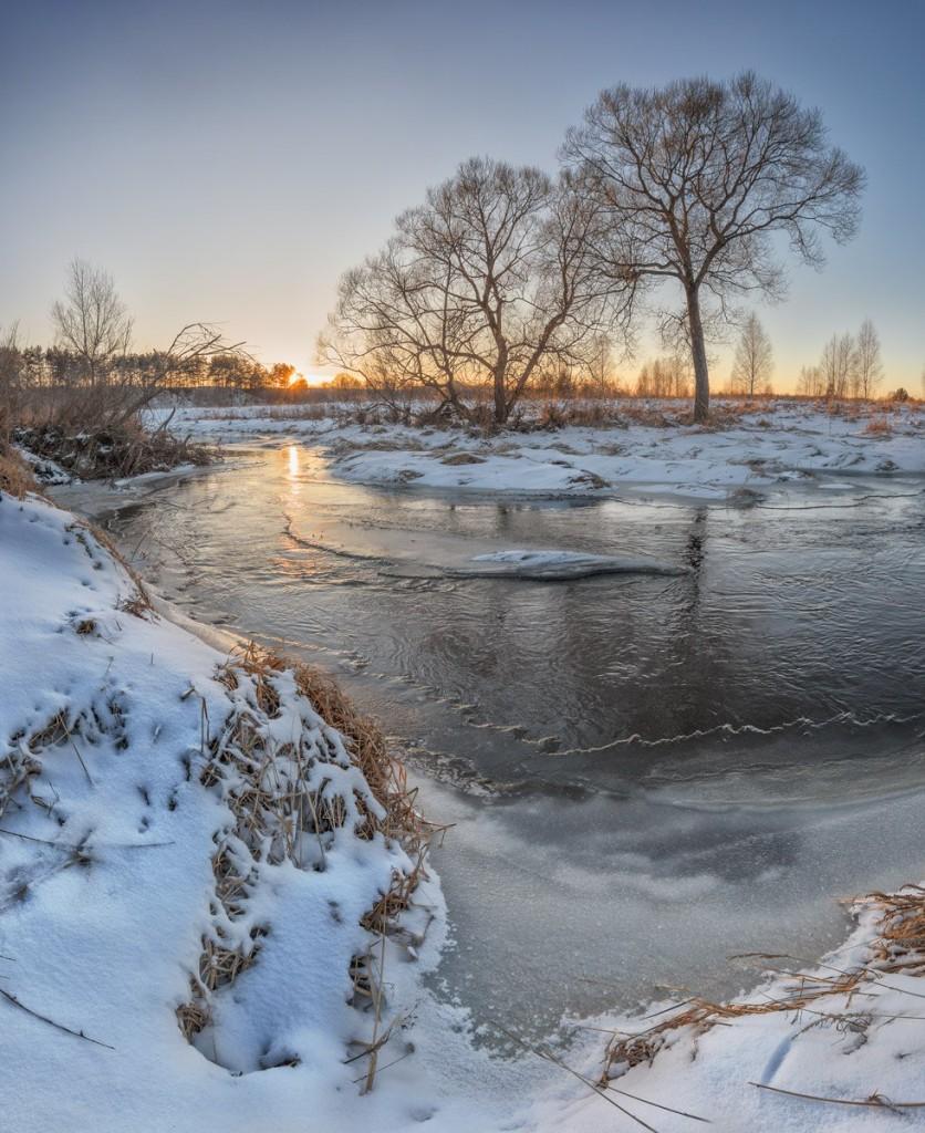 Окрестности Александрова. Река Серая. 01