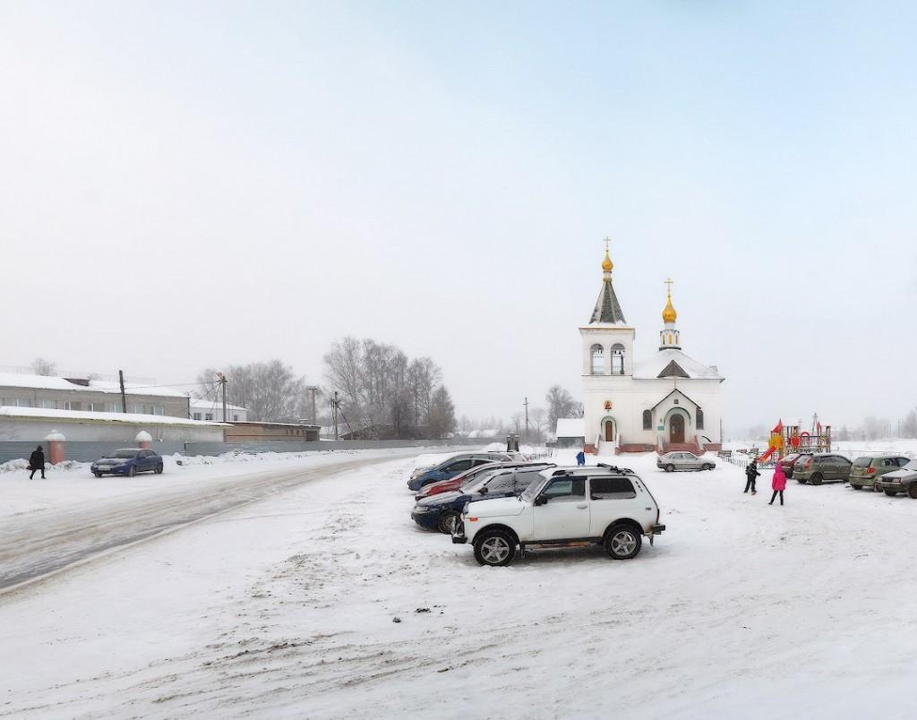 Поселок Головино, Судогодский р-н, зима лето 01