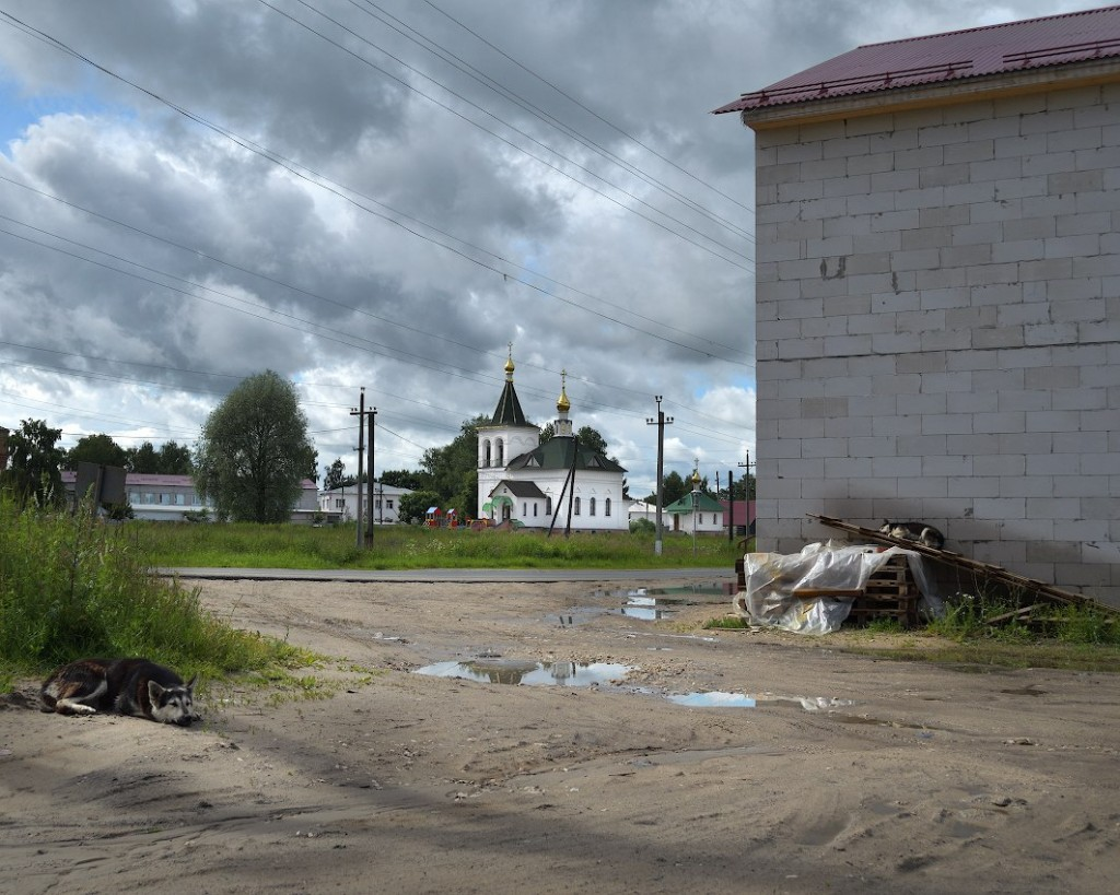Поселок Головино, Судогодский р-н, зима лето 02