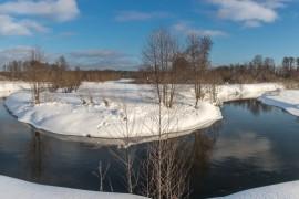 Река Нерехта около д. Погост, Ковровский район
