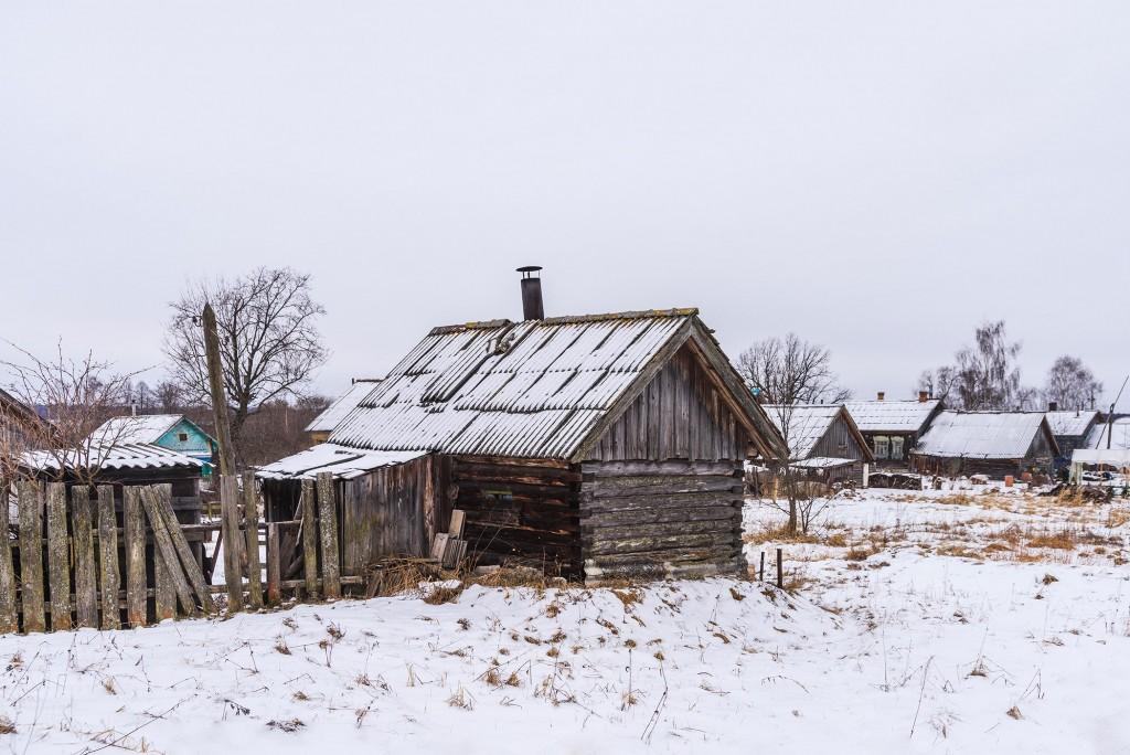 Русская глубинка ( Вязниковский район, январь 2018 ) 04