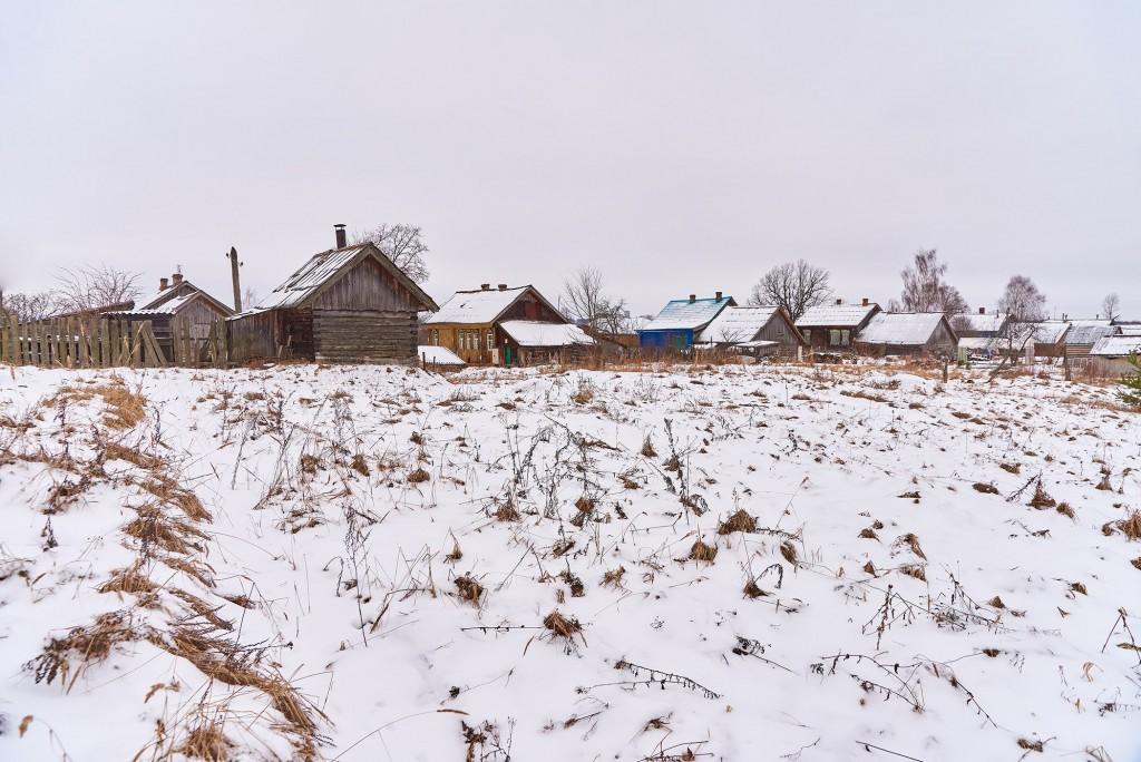 Русская глубинка ( Вязниковский район, январь 2018 ) 05