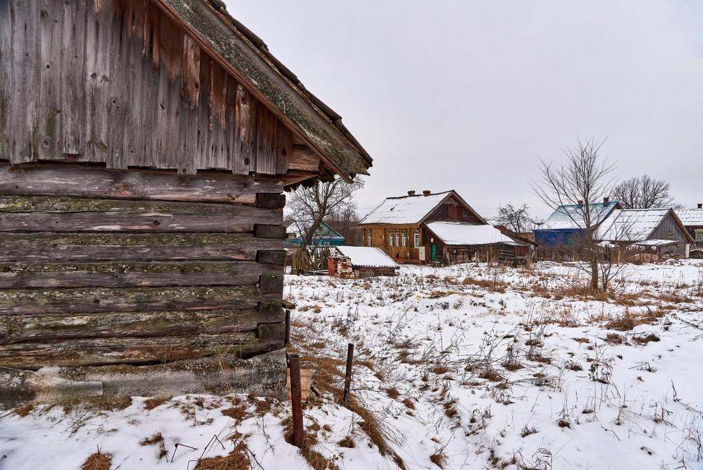 Русская глубинка ( Вязниковский район, январь 2018 ) 06