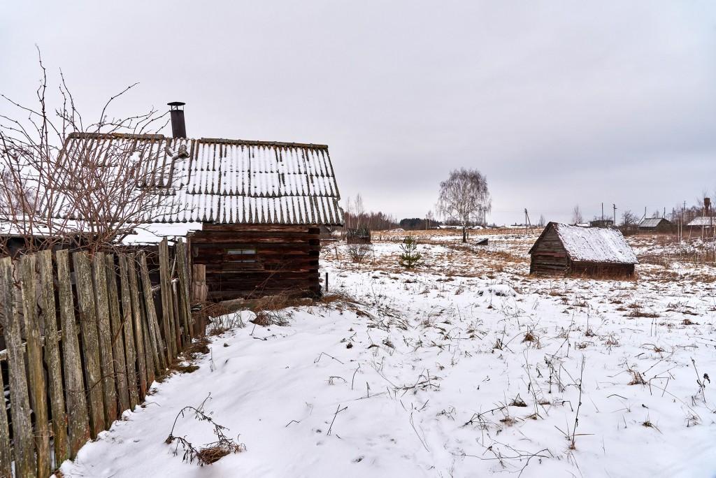 Русская глубинка ( Вязниковский район, январь 2018 ) 07