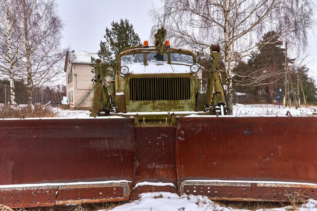 Русская глубинка ( Вязниковский район, январь 2018 ) 09