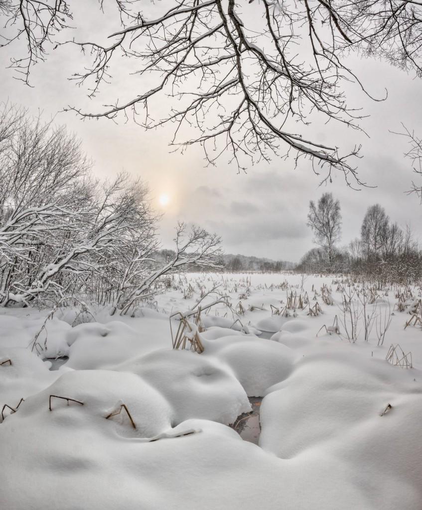 Снежное начало февраля в Александрове, 02.02.2018 01