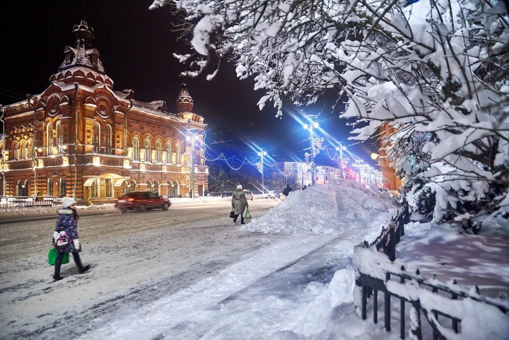 Снежный-вечерний... ( Владимир, февраль 2018 ) 01