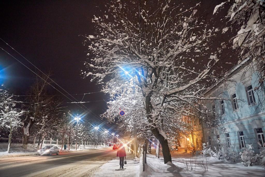 Снежный-вечерний... ( Владимир, февраль 2018 ) 02