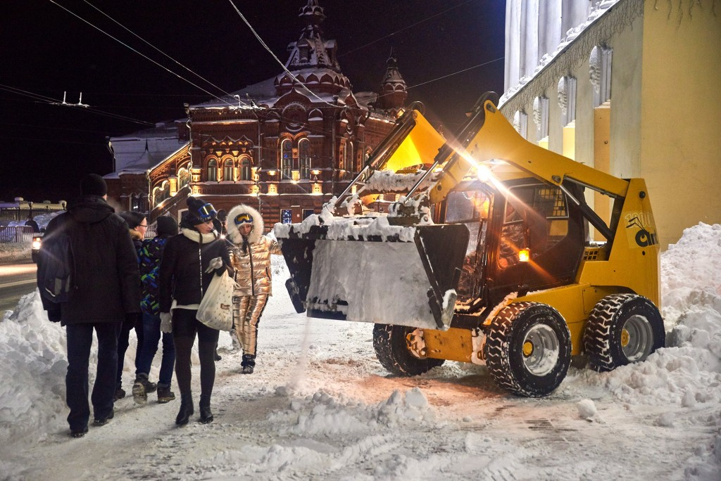 Снежный-вечерний... ( Владимир, февраль 2018 ) 05